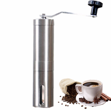 SCD-5-SS019 Stainless Steel Manual Coffee Grinder Washable ABS Ceramic Core Home Kitchen Mini Manual Hand Coffee Grinder