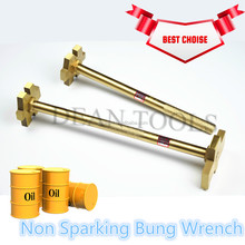 Explosion Proof Open Oil Drum Double End Albr Cube Bung Wrench ,Safety Copper Non Sparking Spanner
