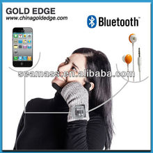 2013 GPS waterproof bluetooth glove bluetooth mobile phone for touch screen