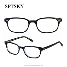 Retro style best quality new models of glasses frames by shenzhen eyewear factory.