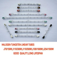 500w halogen tube,halogen lamp,halogen Bulb
