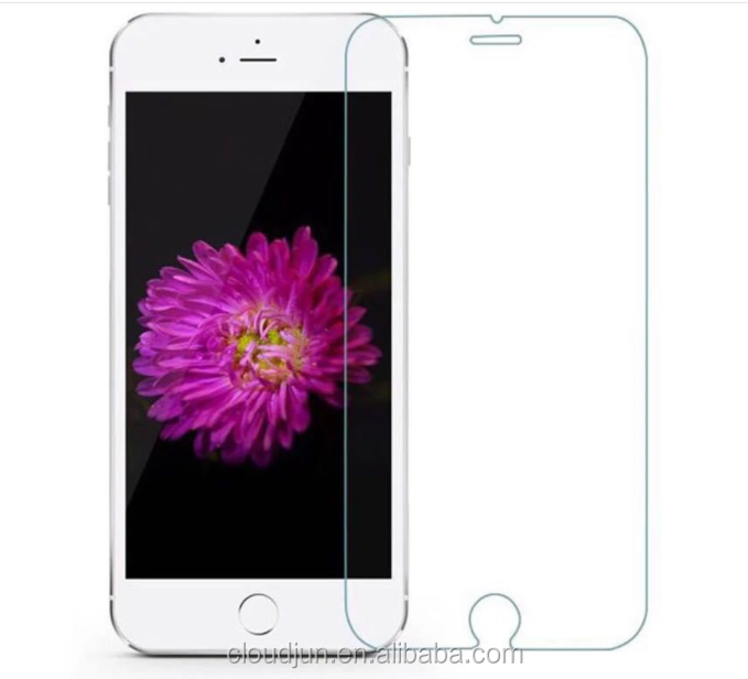 2017 wholesale cell phone tempered glass screen protector with design for iPhone 5 se