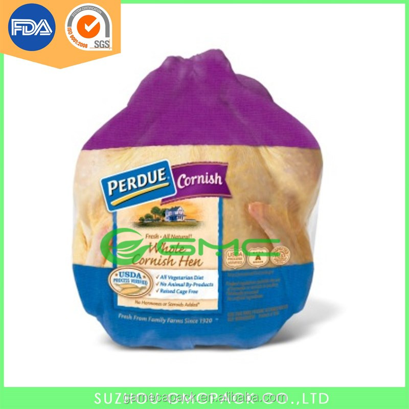 EVA/PE Food Grade Printable Poultry Chicken Shrink Bag/ Plastic Vacuum Bag