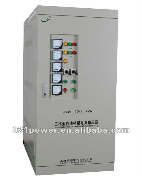 120KVA industrial AC voltage regulator.