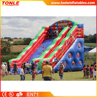 High quality inflatable Event Slide, circus theme inflatable dry slides for sale