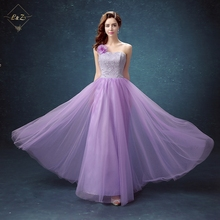2018 L&Z Girls Party Dresses Hotselling Peach Bridesmaid Dress