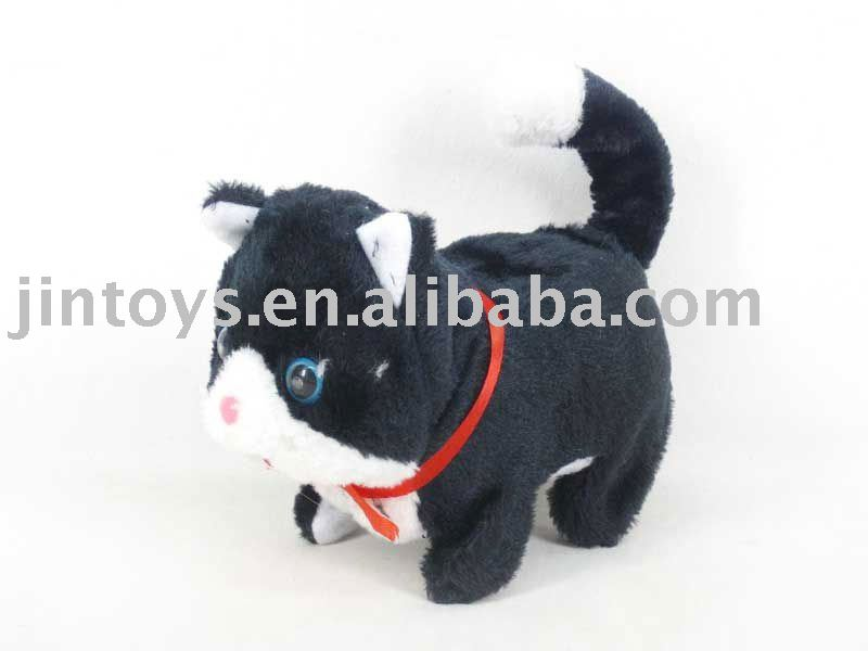 Battery Operated Cat with Sound