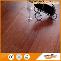 Tap&Go locking Taun mahogany color multi-layer style selections trailer hard wood flooring