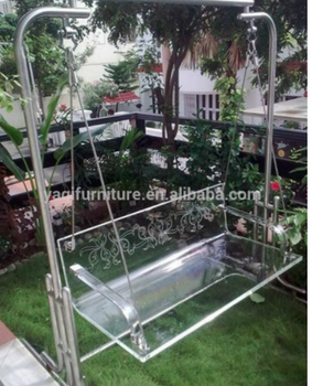 Hot Sell Modern Acrylic Patio Swings Leisure Chair