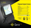 outdoor IP65 waterproof new design 85-265v slim 100w led flood light