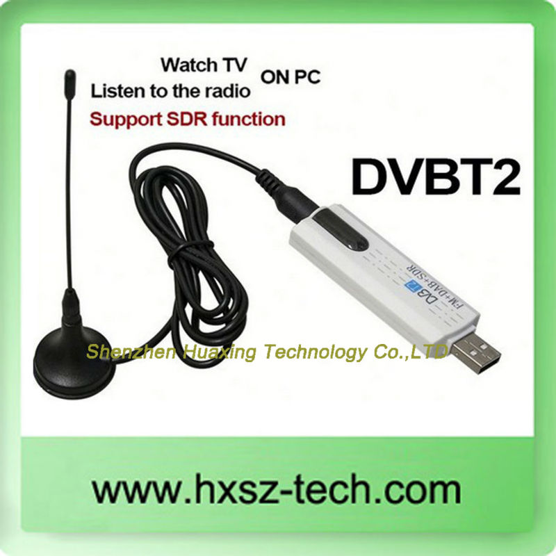 DVBT2+FM+DAB+SDR Digital Recorder USB TV Tuner Stick