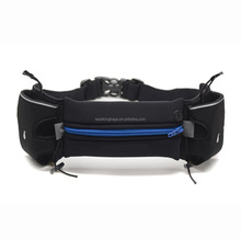 Unisex sport waist pack running hydration belt with phone pouch