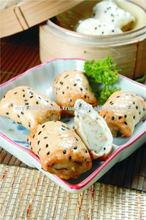 Dim Sum - sesame roll, traditional chinese food, pau, snack, breakfast