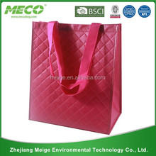 high quality transparent pp woven rice bags 50kg /strong pp woven shopping bag /shoulder pp non woven bag