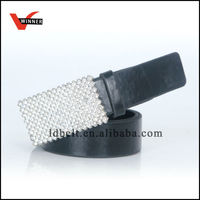 Newest designed top range pure genuine leather belt for man