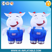 Best service!!inflatable cow mascot costume,inflatable costumes for kids,inflatable moving costumes