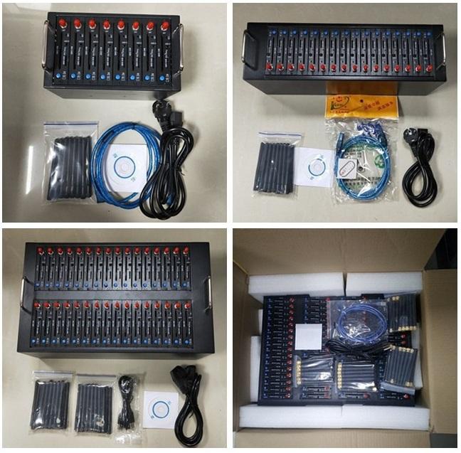 bulk sms sender services 2g 3g 4g multi ports 4 8 16 32 64 sim card slots gsm bulk sms modem pool