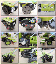 China hand walking tractor for sale/farm tools and equipment