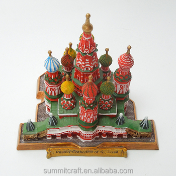 custom resin 3d Collectible Miniature building replica