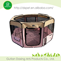 Folding pet woven bag,Dog Playpen with Eight Panels
