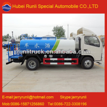 Low Price Dongfeng 2000L mini water tank truck