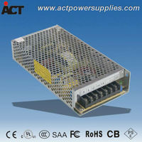 SAA CE approved 12v 150w switch power supply ACT-120125
