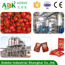 Tomato paste production line/ tomato paste sachet packing machine