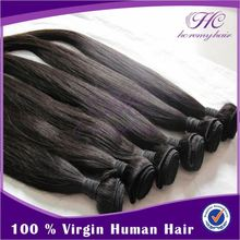 Most popular in brazil remy virgin indian straight natural human hair