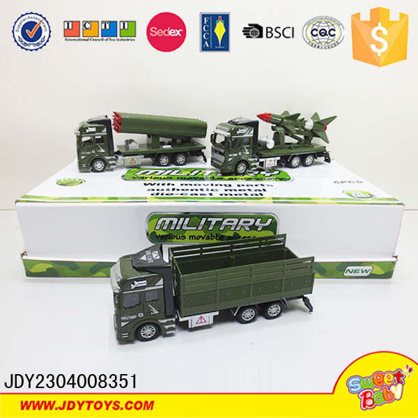 Metal model toy car die cast military car
