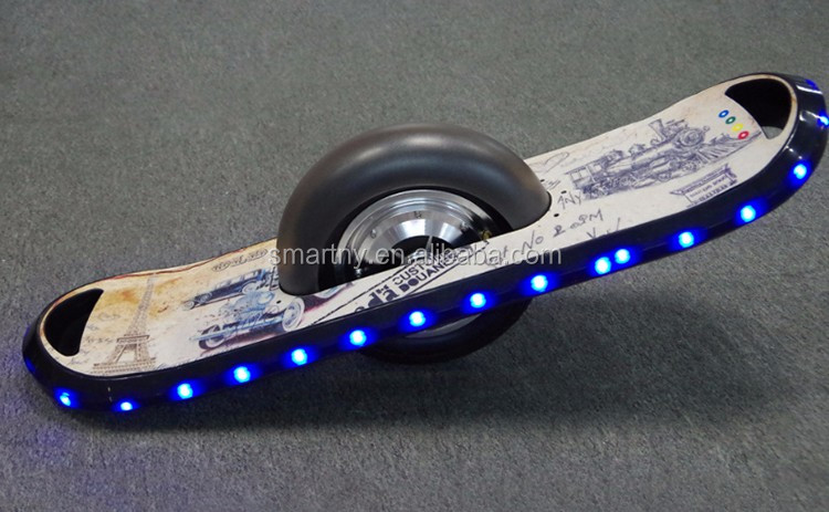 Hot Selling New Fasion 10 Inch LED One Wheel Electric Balance Scooter with Bluetooth