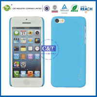 C&T Candy color plastic hard case for iphone 5c back cover