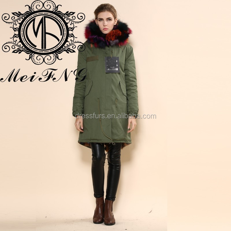 Wholeslae korea new winter lady big coat fake fur hooded jacket women