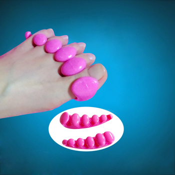 Bunion Hallux Valgus Relief TPR Gel Toes Separator Toe Straighteners