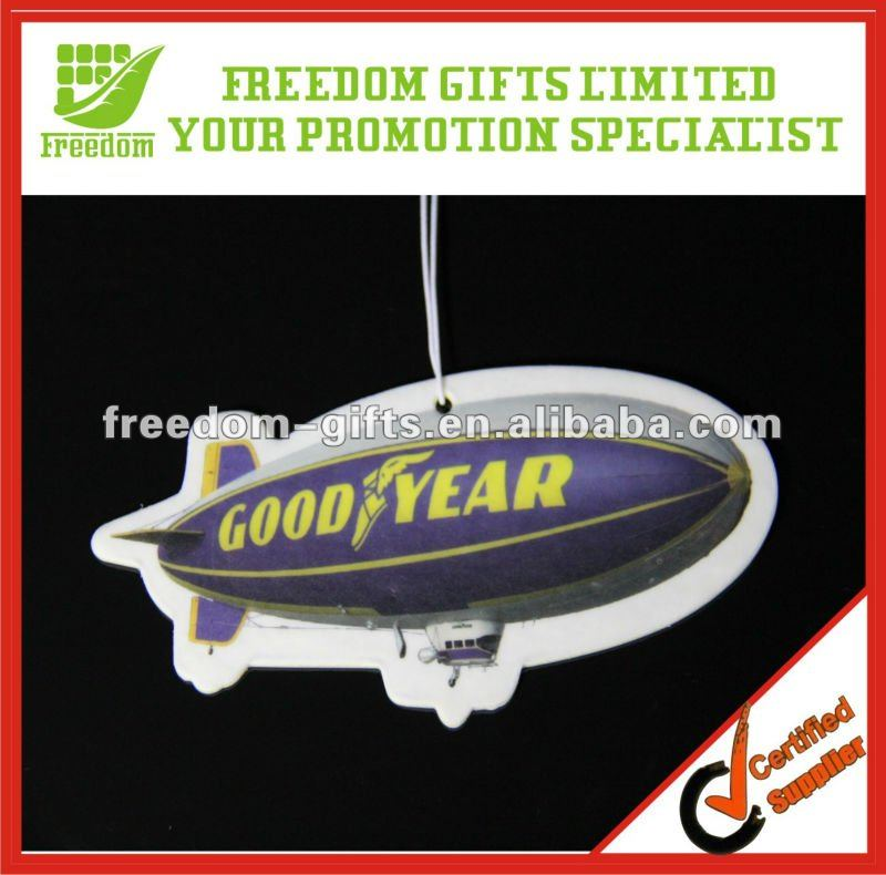 Branded Hanging Car Air Freshener