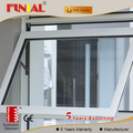 Factory best price aluminum winodw,top hung outward open window,aluminum casement window supplier