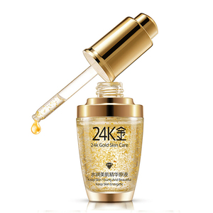 wholesale OEM ODM anti-aging 24k gold essence face serum for female