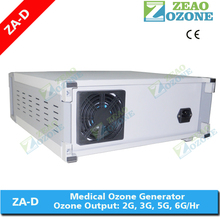 Pure oxygen feeding desktop ozone therapy machine for blood treatment