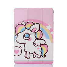 For ipad case ,cartoon leather phone case for ipad air