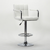 Customized Cheaper Price bar stool high chair Lift bar stool white/bar stool chair With Armrest