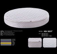 High quality king size cheap round beds mattress