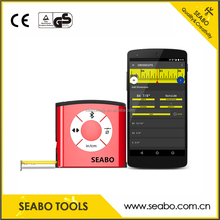 the hot selling of digital display measuring tape with bluetooth