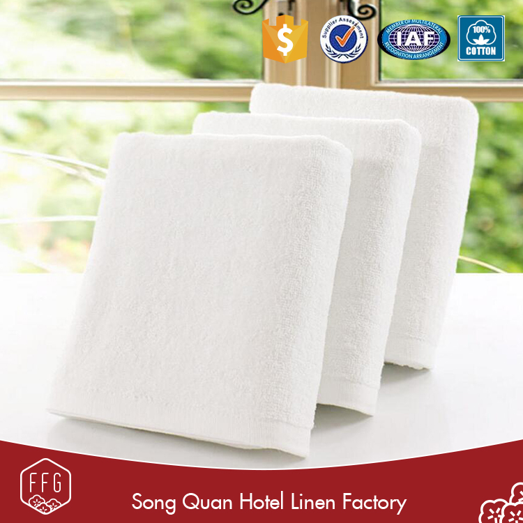 FFG China wholesale white 100%cotton hotel pakistan bath towels