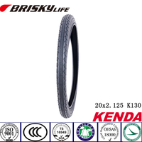 Factory price 20inch solid rubber tire for BMX and Kids' bike