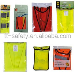High visibility & eco-friendly adjustable trap florescent reflectors dog reflective vest reflects car lights for dog safety