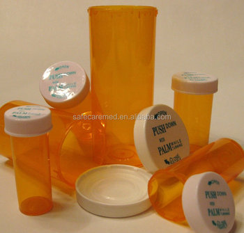 child resistant cap vials tablet bottle