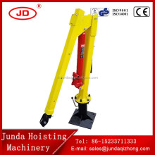 Hydraulic Boom Mini 0.5 ton Truck Mounted Crane for Sale