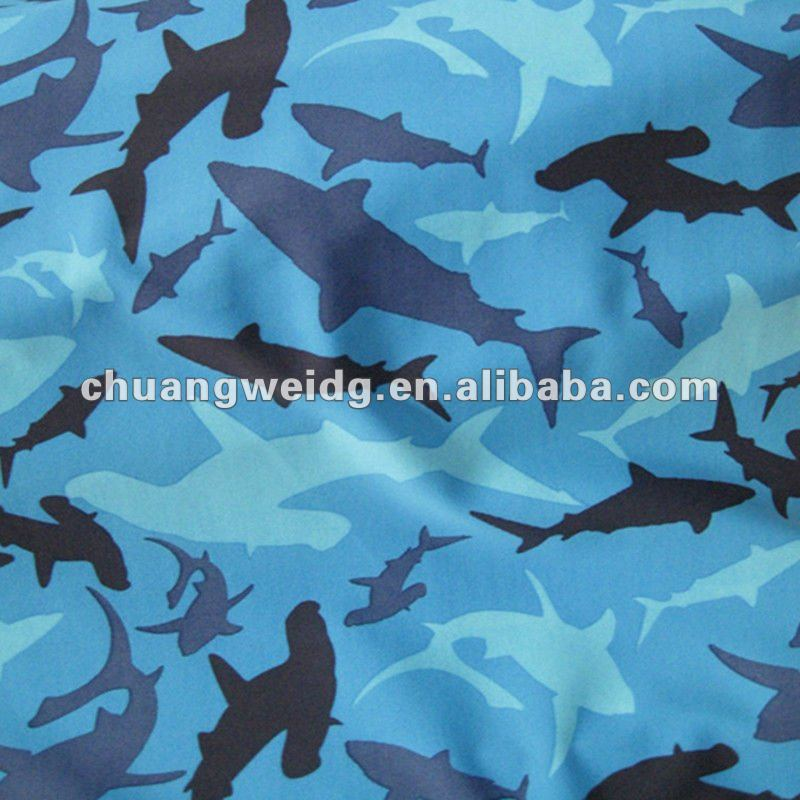 Lovely animal design printed swimwear&beachwear fabric