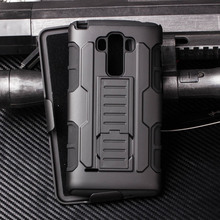 3 in1 Future Armor Shockproof Kickstand Case For LG G4 VISTA Belt Shield Back Cover Case For G VISTA 2