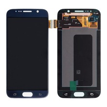 Wholesale 100% original for samsung galaxy s6 lcd display touch screen digitizer g920i g920p g920f g920v g920a