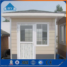 Qualified Light Steel Prefab Sentry Box Guard House Ticket Office House